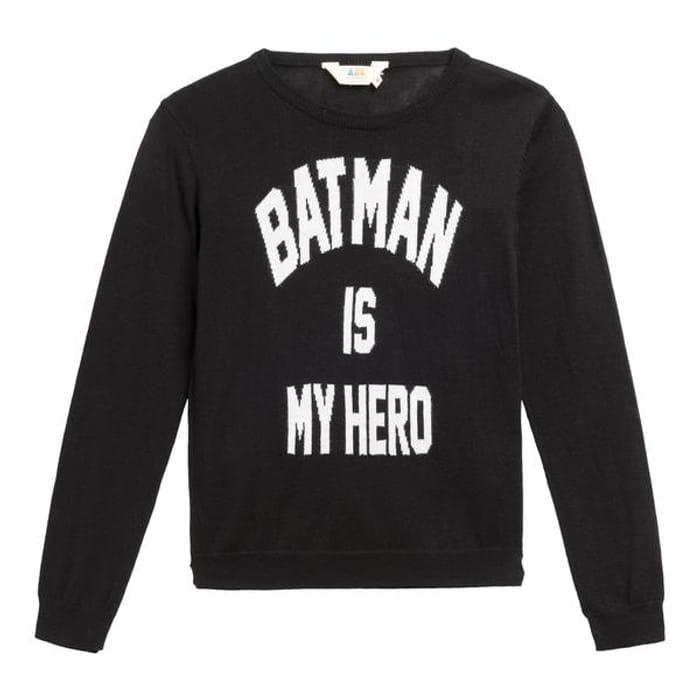Little Eleven Batman is My Hero Jumper