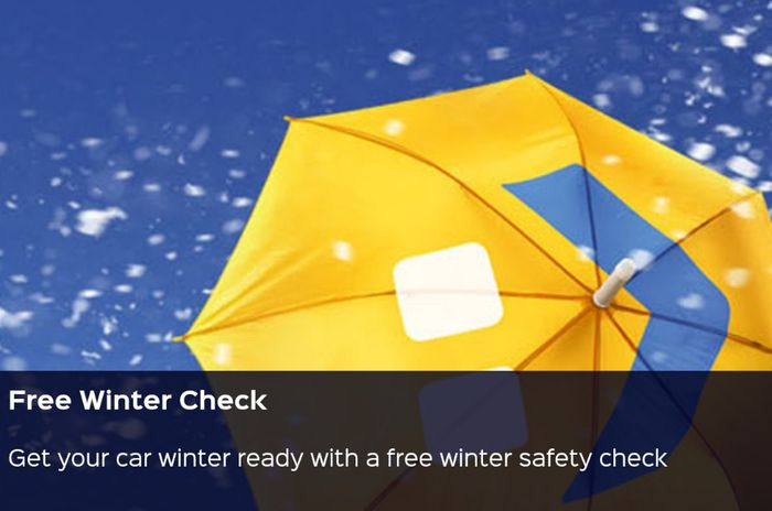 Free Winter Safety Check for Your Car