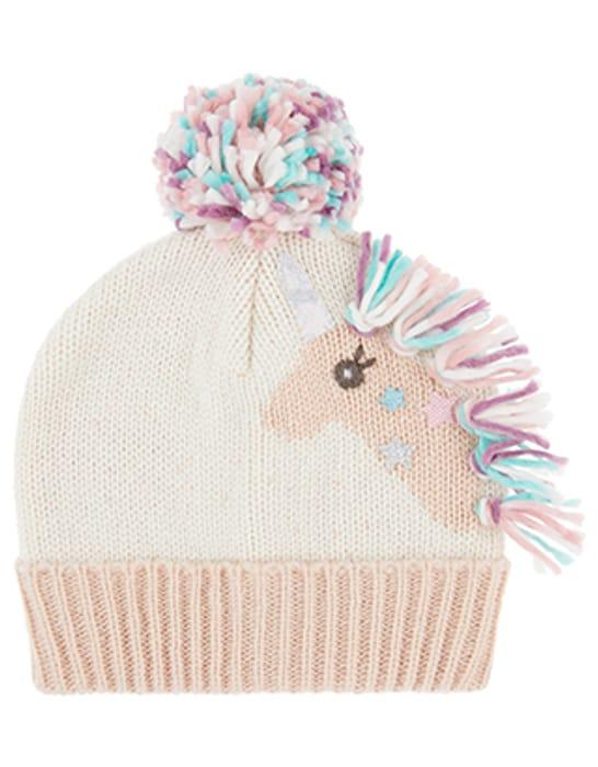 Sparkle Unicorn Beanie Hat