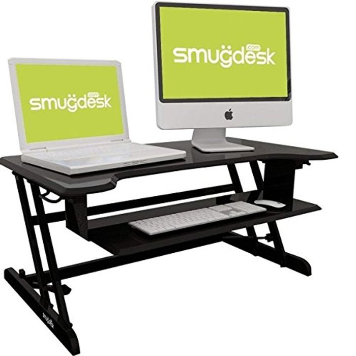 *STACK DEAL* B Standing Converter Desk Height Adjustable Desk