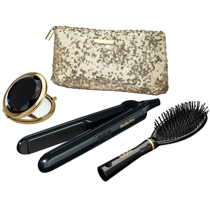 BaByliss 2858GU Sheer Glamour Hair Straightener Set