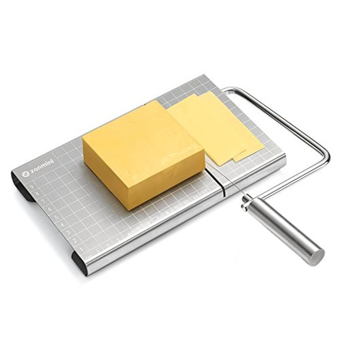 *STACK DEAL* Zanmini Cheese Slicer Wires Stainless Steel + Free Strainer