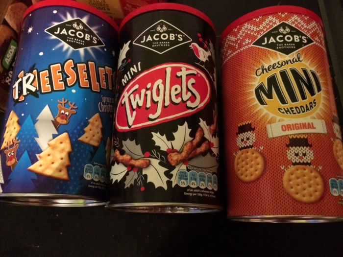 Jacobs Treeselets, Twiglets and Mini Cheddars