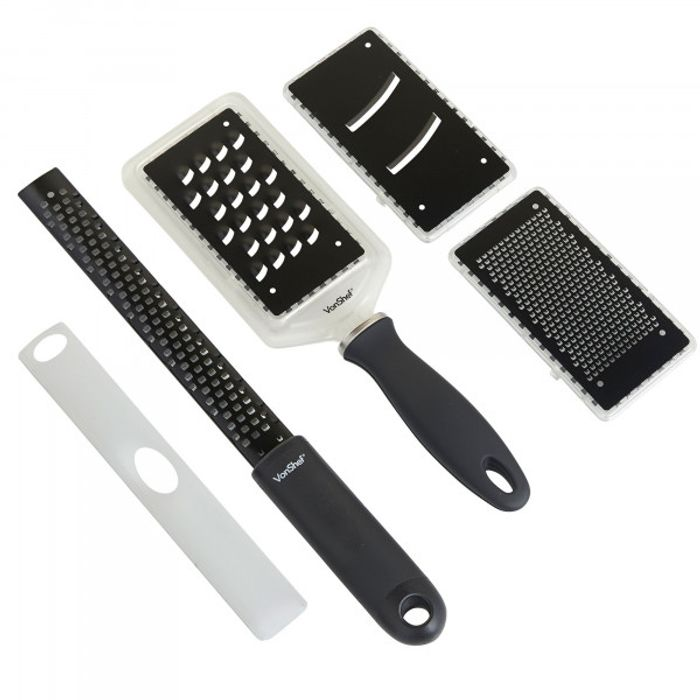 4pc Grater & Zester Set