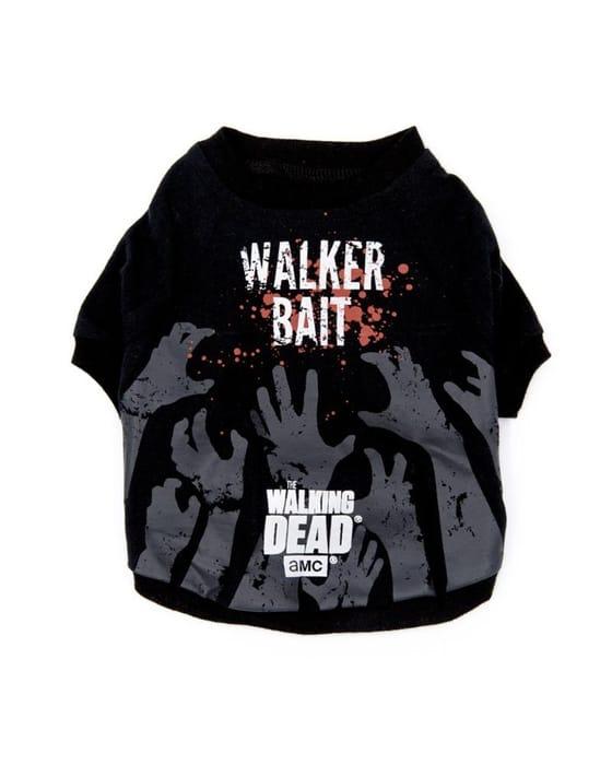 Official the Walking Dead Walker Bait - Dog T-Shirt