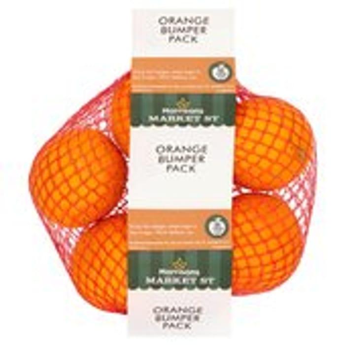 Morrisons Market St Orange Bumper Pack 5 per Pack