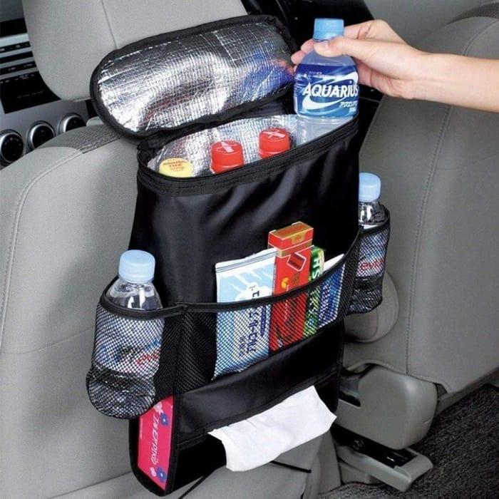 Durable Wear-Proof Multi-Pocket Insulation Car Seat Back Bag Storage Bag