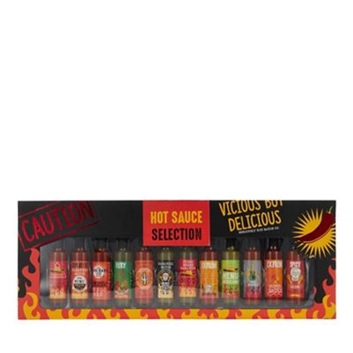 Debenhams - 12 Hot Sauce Selection