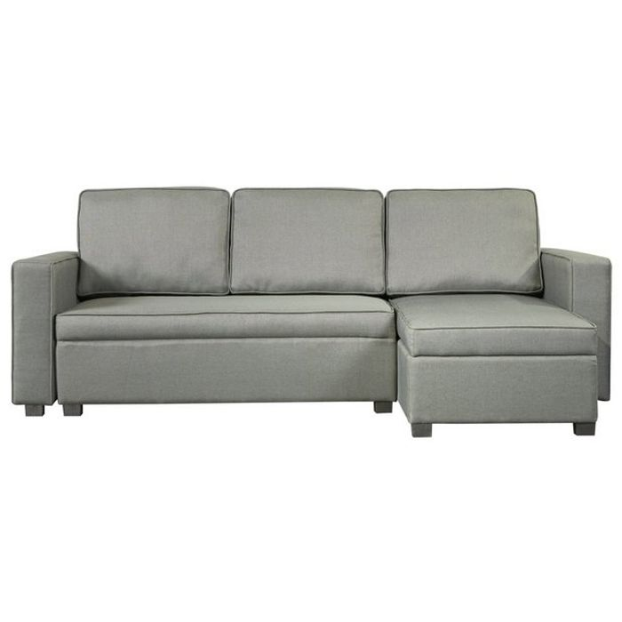 Argos Home Eddie Reversible Storage Sofa Bed - Charcoal