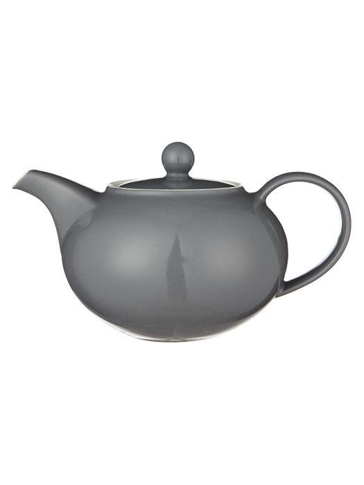 John Lewis the Basics 3 Cup Teapot, 700ml, Grey