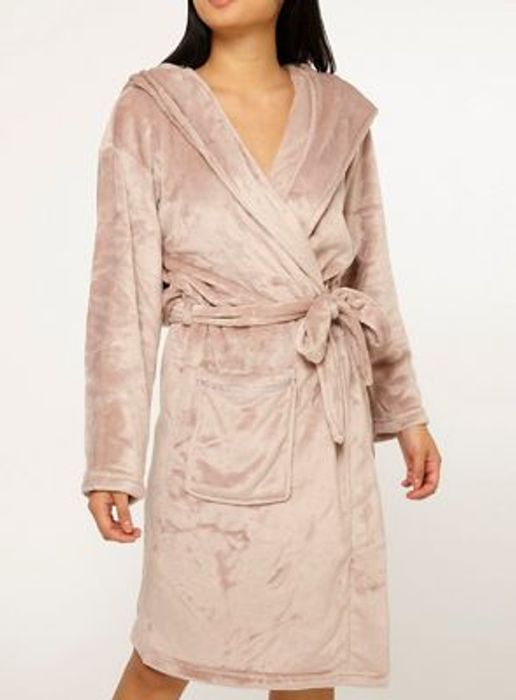 Dorothy Perkins - Petite Pink Well Soft Robe
