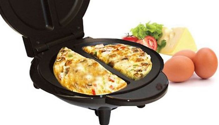Dual Non-Stick Omelette Maker - 700W