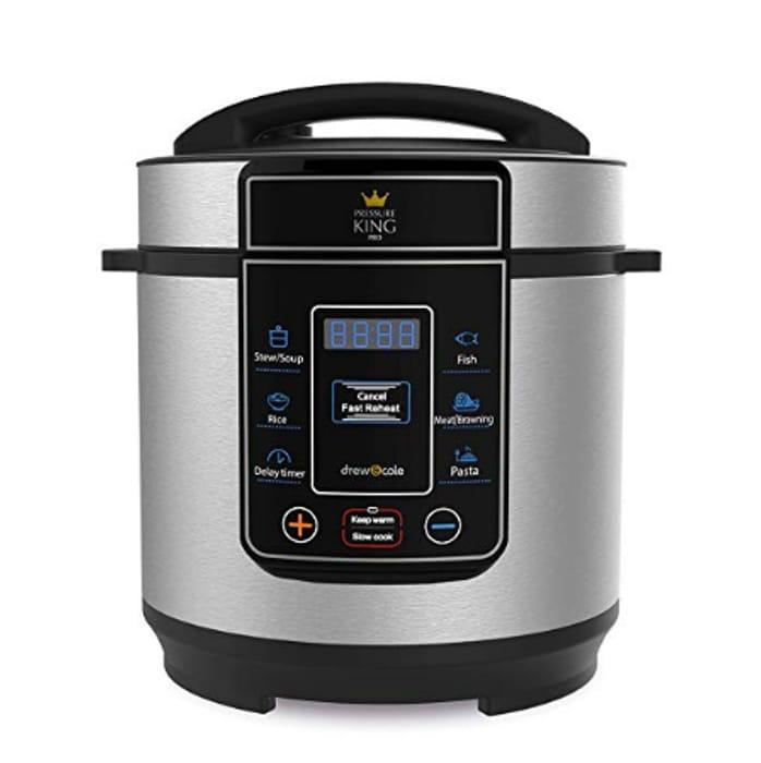Pressure King Pro 3 Litre Pressure Cooker Only £34