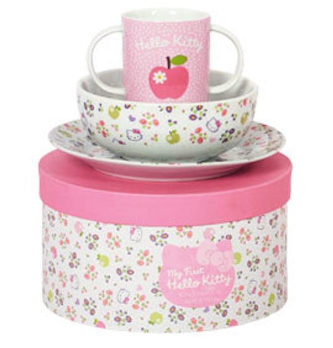 Hello Kitty Breakfast Set