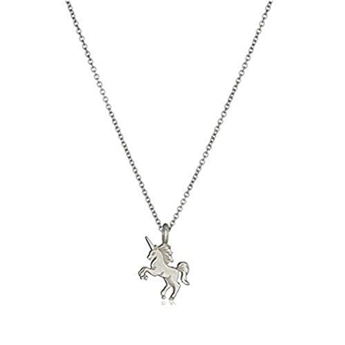 Silver Coloured Unicorn Necklace Only 55p Delivered