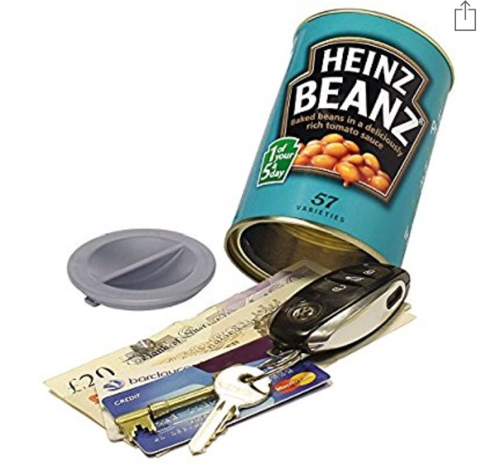 This is no ordinary can of beans...