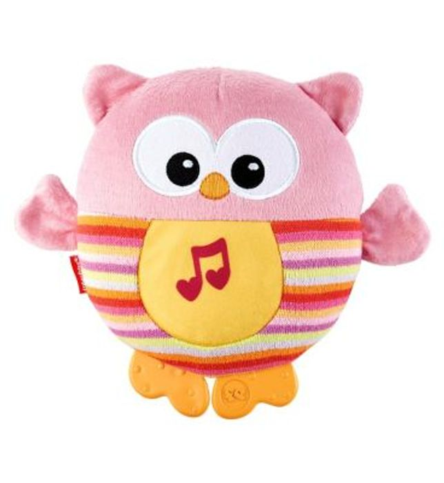 Fisher Price Sooth and Glow Owl - Pink