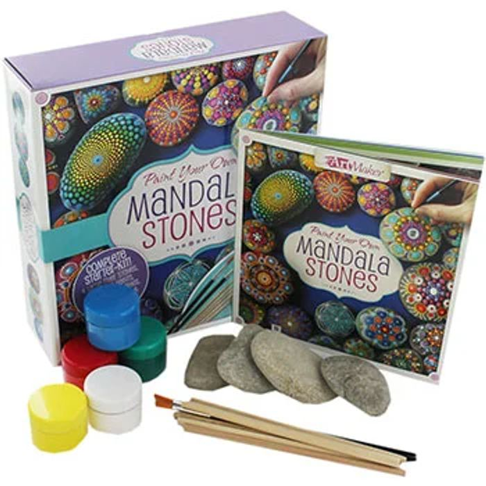 Paint Your Own Mandala Stone
