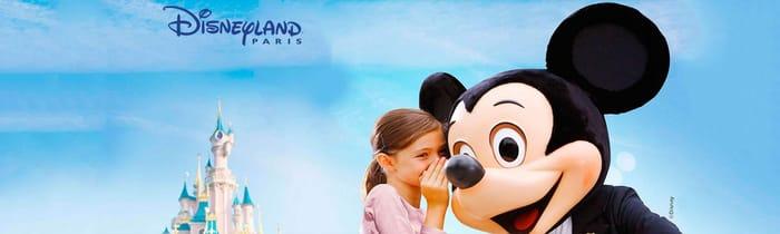 Disneyland Paris Family Breaks - up to 40% Off