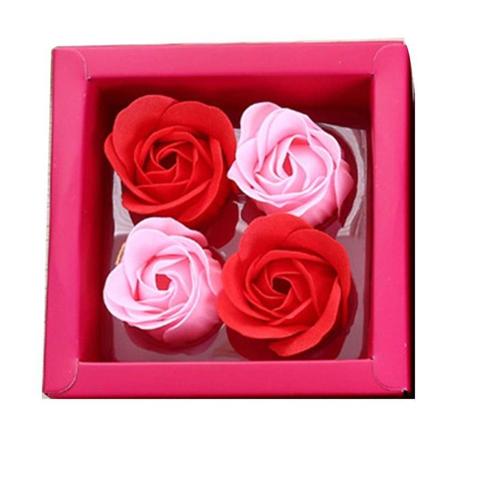 Rose Flower Soap Valentine's Day Wedding Birthday Gift Soaps on Amazon