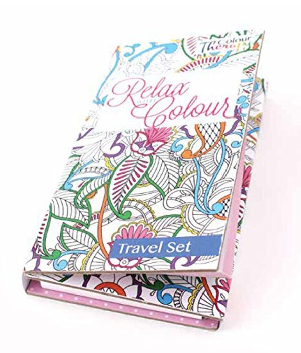 Colour Therapy Travel Colouring Kit