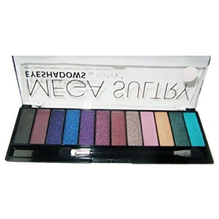 Technic Mega Sultry Eyeshadow Palette of 12 Colours