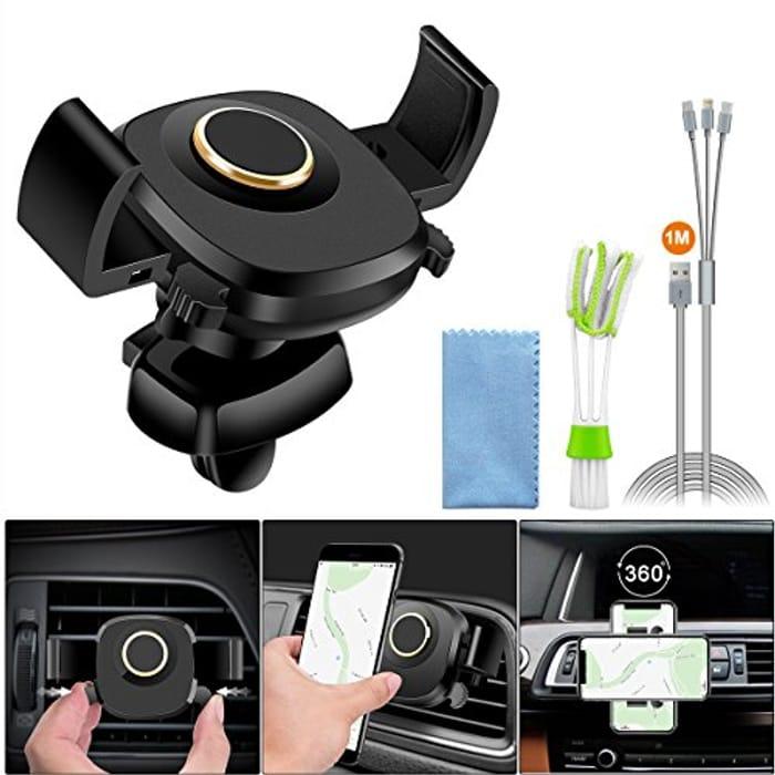 Air Vent Cell Phone Holder, Auto Lock Car Phone Holder