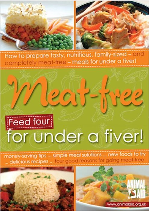 Order a Copy of Meat-Free! Feed Four for under a Fiver