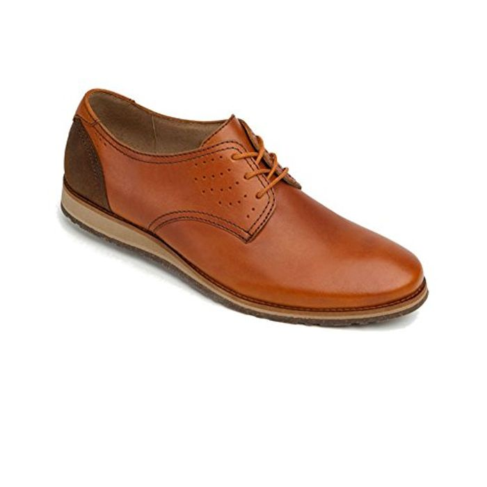 Nexus Men's Tri Color Genuine Waxi Leather Casual Lace up Shoe