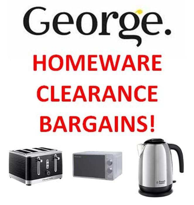 ASDA George - HOME CLEARANCE SALE