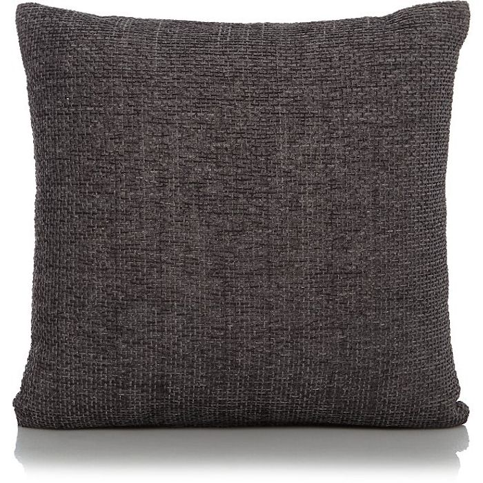 Charcoal or Ochre Colours Chenille Cushion 3 for £10.00