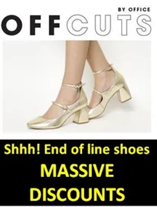SECRET SHOE DEALS! Office OFFCUTS - Fantastic Mark Downs