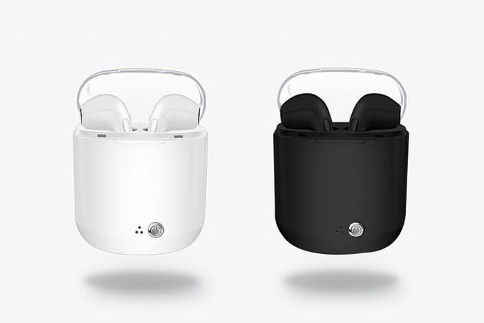 Apple-Compatible Wireless Earbuds with Charging Case - 2 Colours!