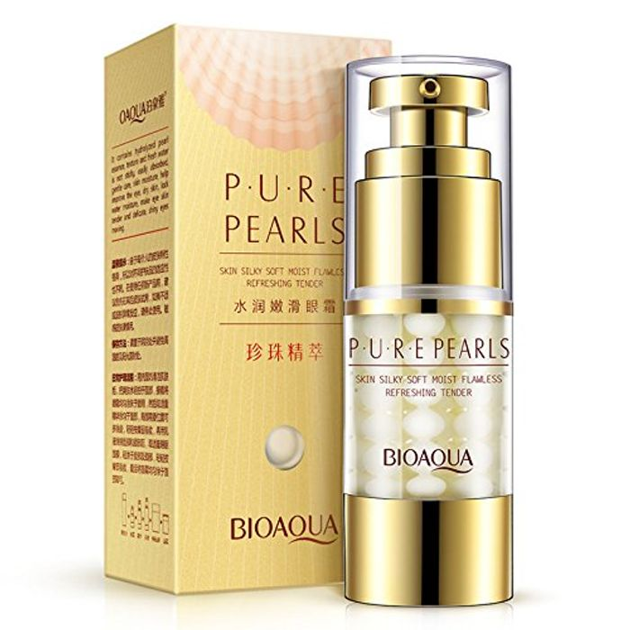 Eye Cream Anti-Wrinkles Pearls Moist Collagen