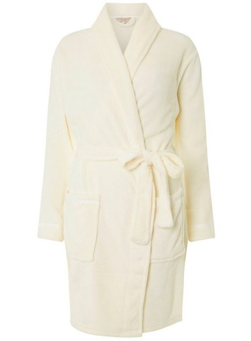 Cream Dressing Gown Not a House Coat