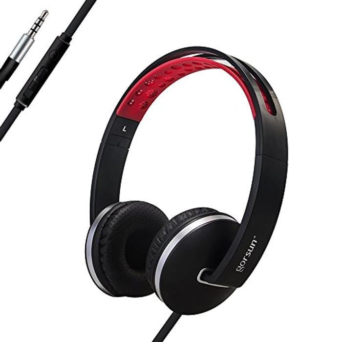 Blue ones 30p **Lightening Deal & Code and Voucher Stack Headphones