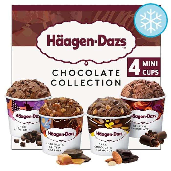 Haagen Dazs Ice Cream Collection Minicups 40%off