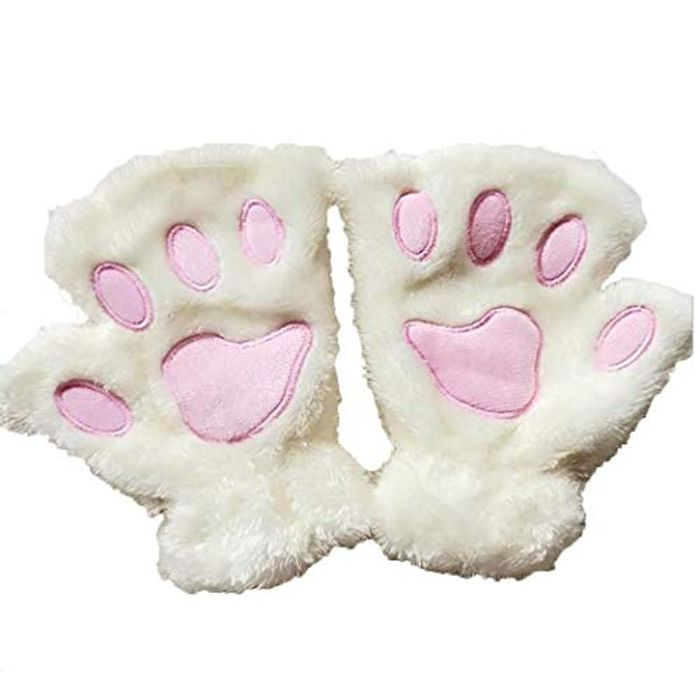 Cat Claw Cute Plush Gloves