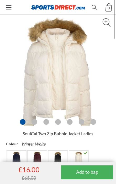 Soulcal Womens Jacket
