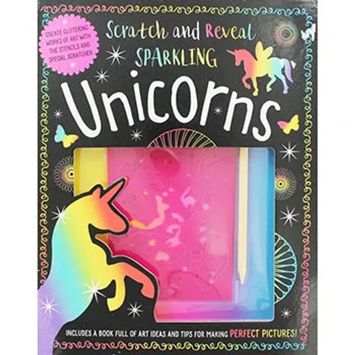 Bargain! Scratch and Reveal Sparkling Unicorns at TheWorks