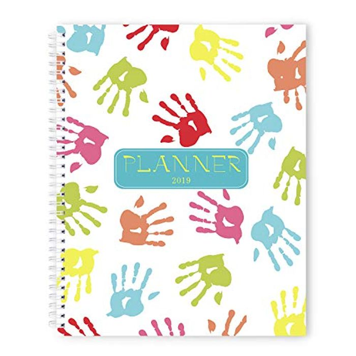 2019 A4 Week to View Diary Planner + 2 Free Dairy Planners