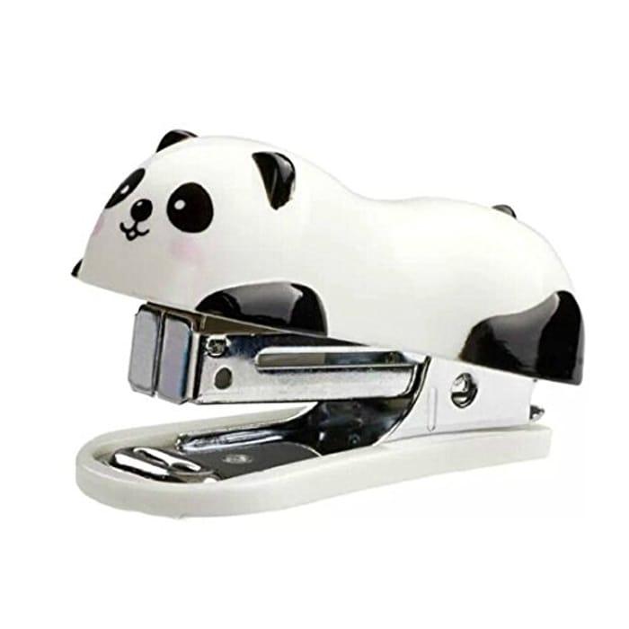 Cute Panda Mini Desktop Stapler