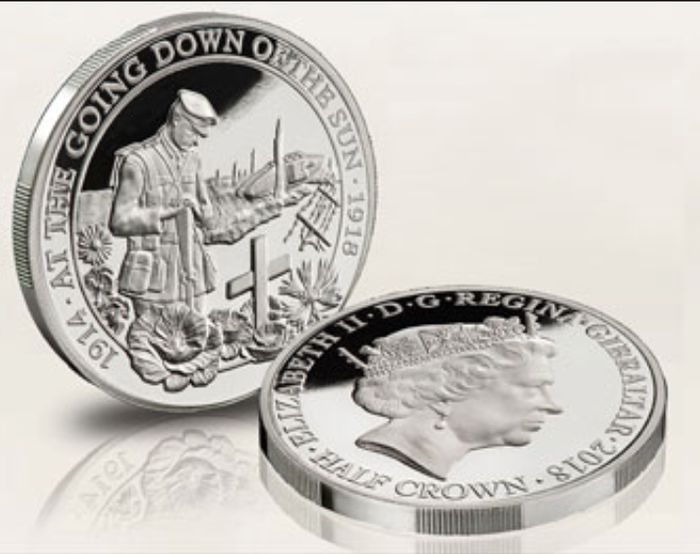Free World War One Silver Coin (Limited Edition)