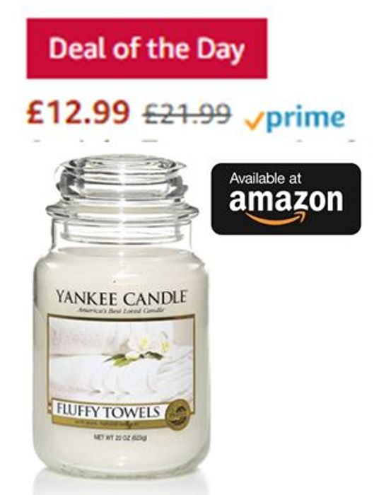 AMAZON #1 Best Seller in Candles - SAVE £9