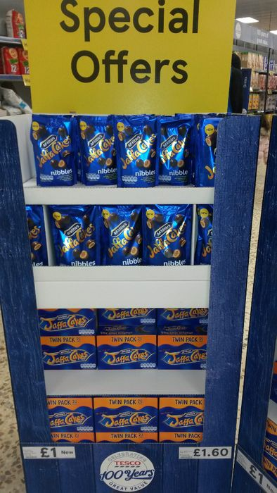New Jaffa Cakes Nibbles