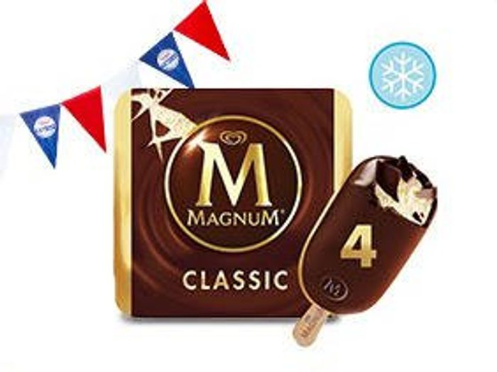 Magnum Classic Ice Cream 4 X110ml