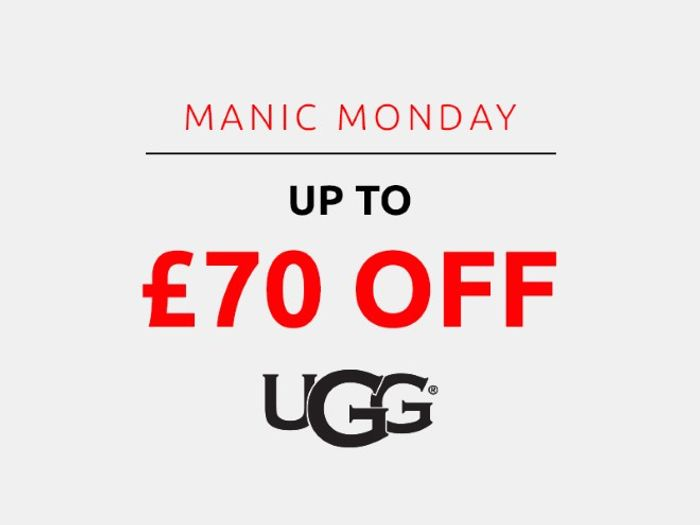 Save up to £70 on Ugg | Manic Monday