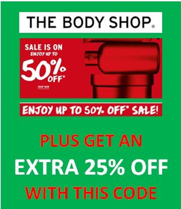 ENJOY! UP TO 50% OFF + EXTRA 25% OFF with Promotion Code