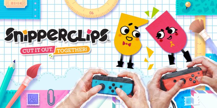 Snipperclips Cut It Out, Together for Nintendo Switch
