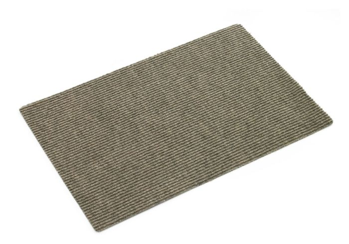 Functional Indoor Mat Ribbed Assorted 40 X 60cm Only £0.75